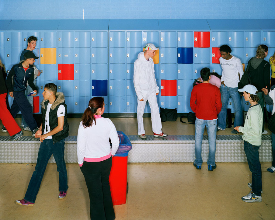 Afbeelding uit de serie School van Raimond Wouda