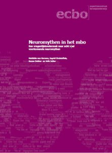 Omslag rapport Neuromythen in het mbo