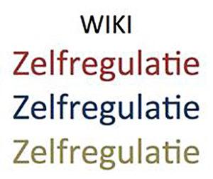 Afbeelding Wiki Zelfregulatie
