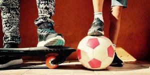 Jongens voetbal