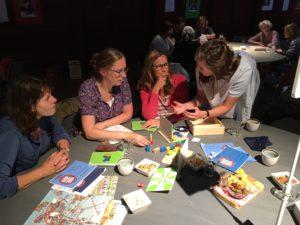 Leraren maken actief kennis met BreinPlein materiaal